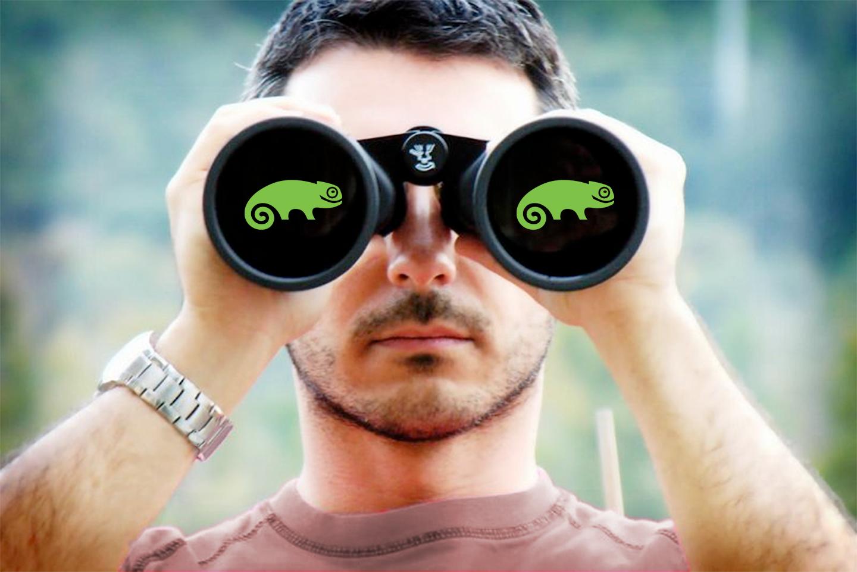 Binoculars_SUSE_Gecko_view_explore