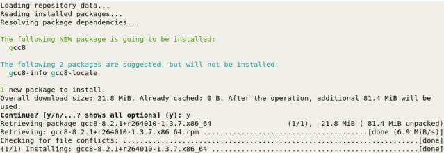CMD_Out_zypper+install_gcc8